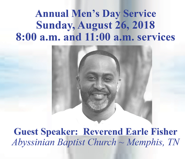 Annual Men's Day Service