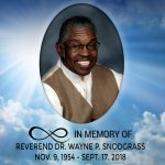 In memory of Reverend Dr. Wayne P. Snodgrass