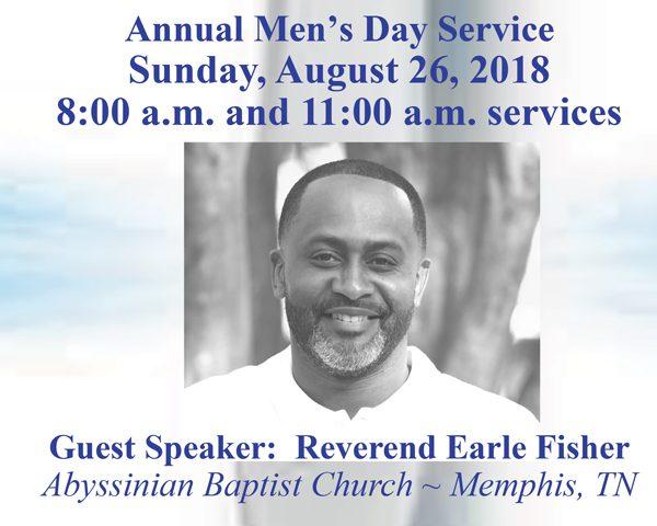 Annual Men's Day Service