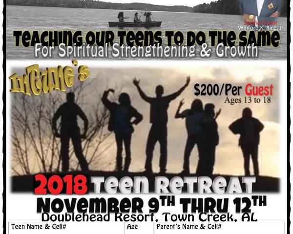 2018 Teen Retreat
