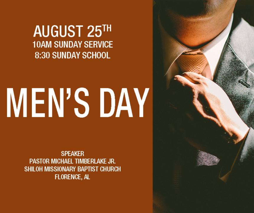 Annual Men's Day